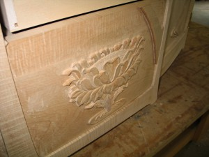 carved lotus 4-open lotus finished