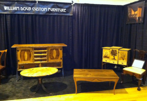Another view of the Fine Furnishings exhibition, November 1-3, 2013.