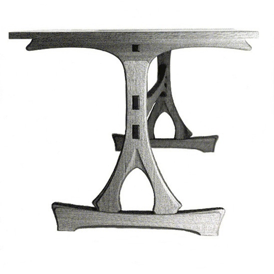 Japanese Trestle Table