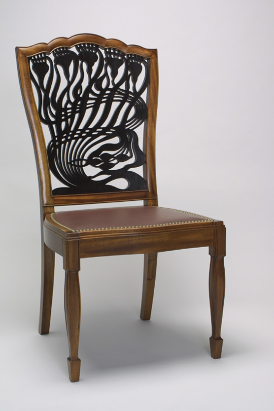 Art Nouveau Mackmurdo Thistle Chair
